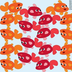 Goldfish Bunting