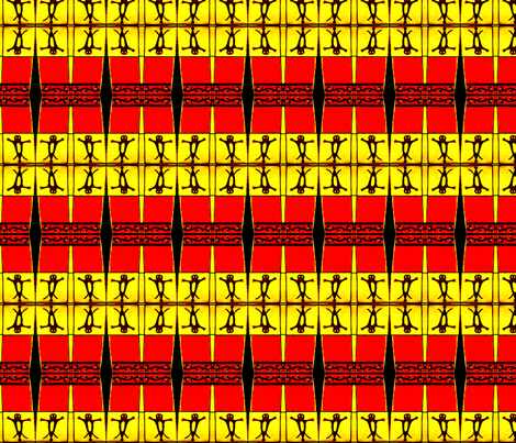Pictograph Tiles 5 fabric by robin_rice on Spoonflower - custom fabric