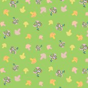 Rpink_and_yellow_mushroom_toss_on_green_tile_16inch_copy_shop_thumb