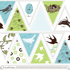 Dreaming of Spring Bunting