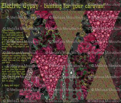 Electric Gypsy bunting