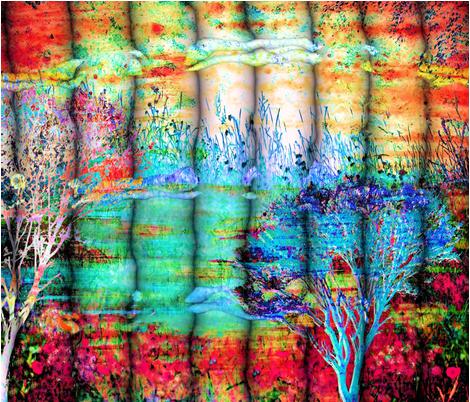 Friendship fabric by valzart on Spoonflower - custom fabric