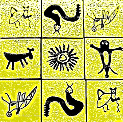 Pictograph Tiles