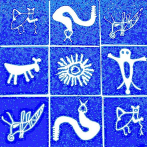 Pictograph Tiles I