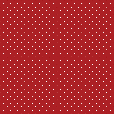 Pin Dots on Red fabric by inktreepress on Spoonflower - custom fabric