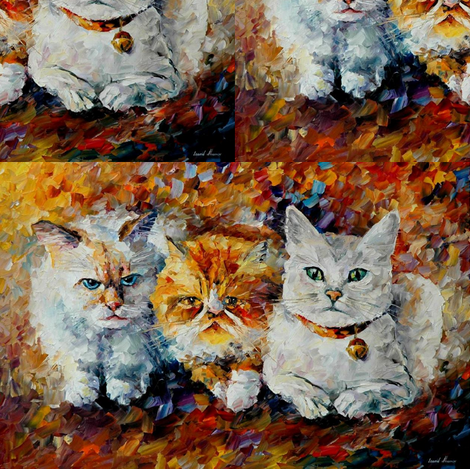 Friends fabric by afremov_designs on Spoonflower - custom fabric