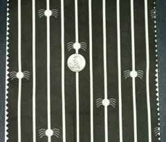 Spider Stripe Black