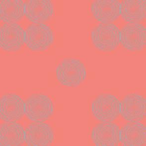 AfroModern No.6 (salmon+grey)