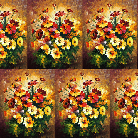 Songs of My Heart fabric by afremov_designs on Spoonflower - custom fabric