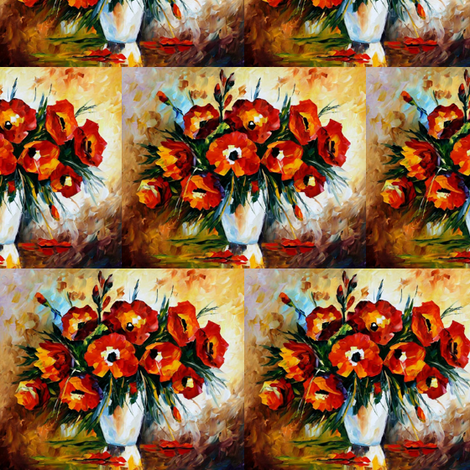 Exuberance fabric by afremov_designs on Spoonflower - custom fabric