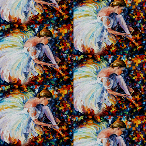 Ballerina fabric by afremov_designs on Spoonflower - custom fabric