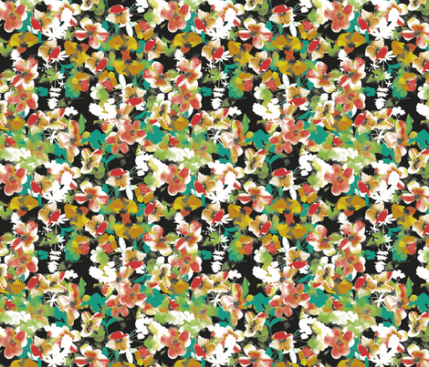 botanical_a_2 fabric by alexandrabridget on Spoonflower - custom fabric