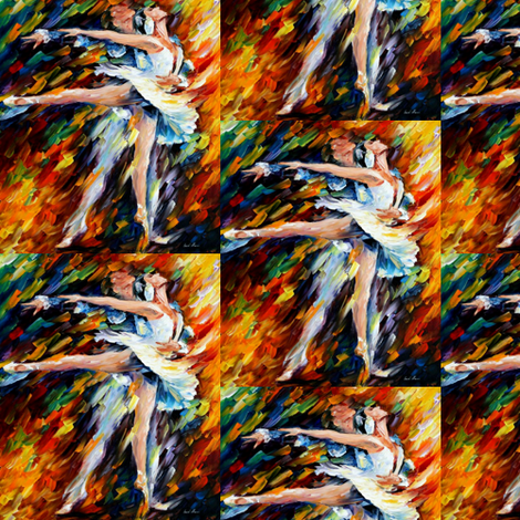 Romeo and Juliet fabric by afremov_designs on Spoonflower - custom fabric