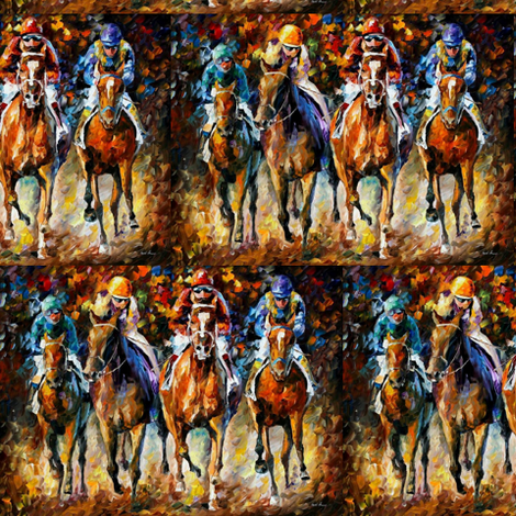 Follow The Leader fabric by afremov_designs on Spoonflower - custom fabric
