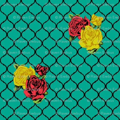 rose lattice