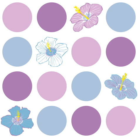 Tropical-Dot fabric by jmckinniss on Spoonflower - custom fabric