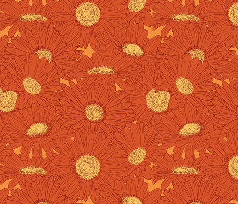 fireflower-color2 fabric by jmckinniss on Spoonflower - custom fabric