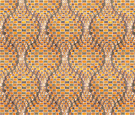 Orange Soda fabric by ormolu on Spoonflower - custom fabric