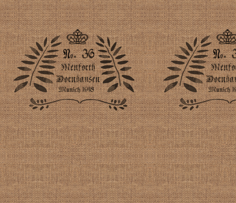 German Grain Sack - No. 36 fabric by bard_judith on Spoonflower - custom fabric