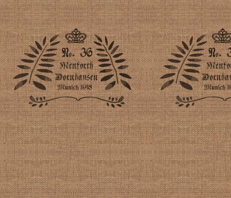 German Grain Sack - No. 36 fabric by bard_judith on Spoonflower - custom fabric