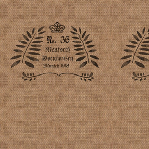 German Grain Sack - No. 36