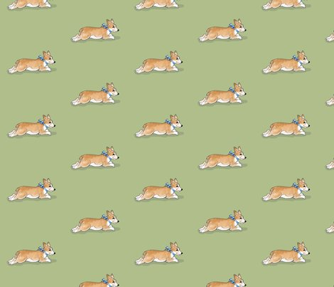 Rrpembroke_lying_pup_-_green_fabric_swatch_shop_preview