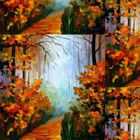 Foggy Morning fabric by afremov_designs on Spoonflower - custom fabric