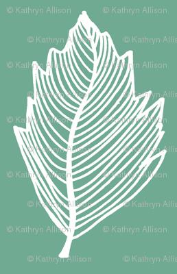 teal leaf