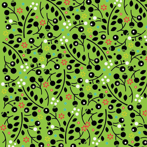 gumnut flower pattern