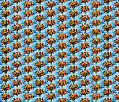 Blue Mood fabric by afremov_designs on Spoonflower - custom fabric