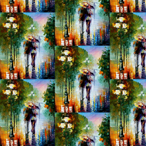 Gone With The Rain fabric by afremov_designs on Spoonflower - custom fabric