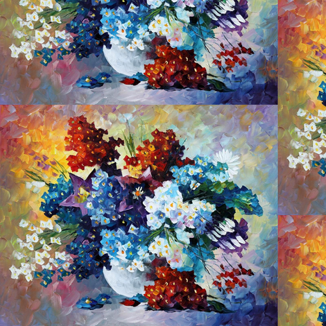 Spring Smile fabric by afremov_designs on Spoonflower - custom fabric