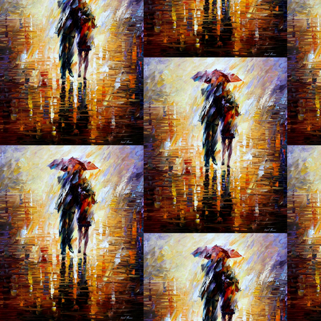Together In The Storm fabric by afremov_designs on Spoonflower - custom fabric