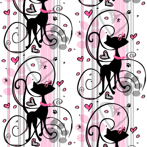 My sweet love #2  fabric by paragonstudios on Spoonflower - custom fabric