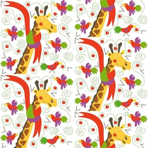 giraffe_and_birds