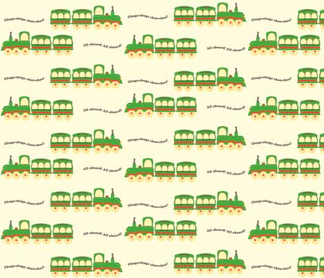 white_background_train fabric by featheredneststudio on Spoonflower - custom fabric
