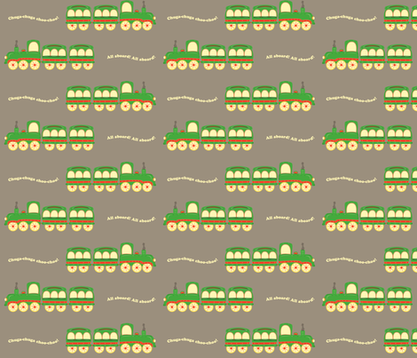 grey_background_train fabric by featheredneststudio on Spoonflower - custom fabric