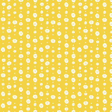 Sunny Day Flowers fabric by wildnotions on Spoonflower - custom fabric