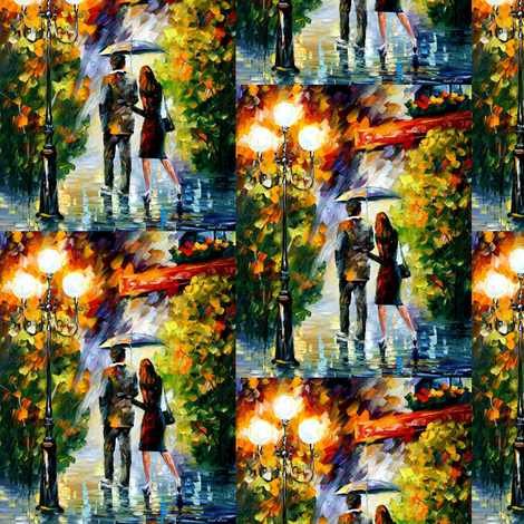 Under My Umbrella fabric by afremov_designs on Spoonflower - custom fabric