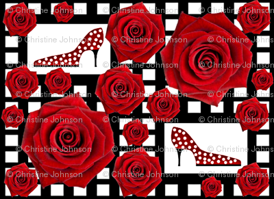 Ooh la la! Red rose