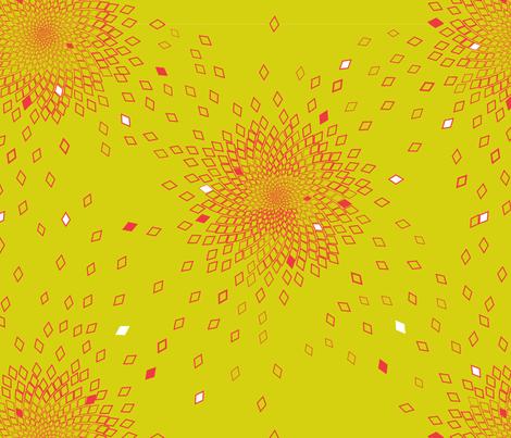 Fibonacci Explosion Yellow