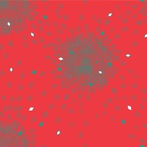 Fibonacci Explosion Red