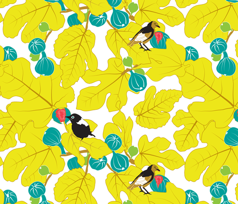 Magical Fruit fabric by newmom on Spoonflower - custom fabric
