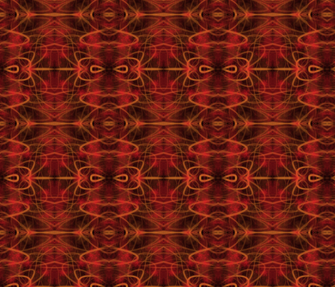 Autumn Fire fabric by coriander_shea on Spoonflower - custom fabric