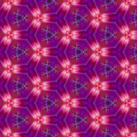 Plasma Flower fabric by coriander_shea on Spoonflower - custom fabric