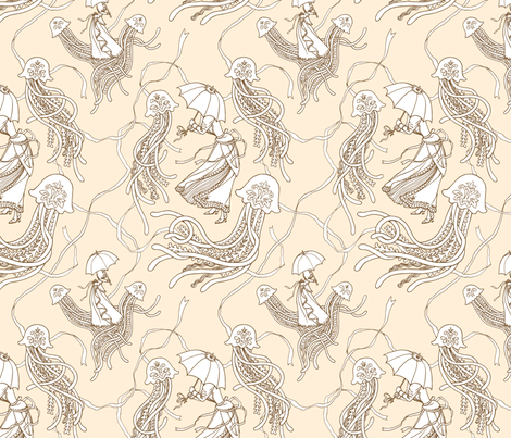 Bath, England 1894 fabric by emamont on Spoonflower - custom fabric