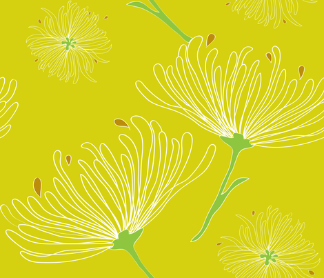 Jardin_Botanique fabric by snowflower on Spoonflower - custom fabric