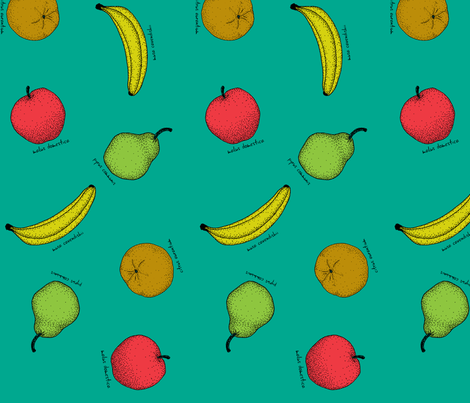 Fruit fabric by leighr on Spoonflower - custom fabric