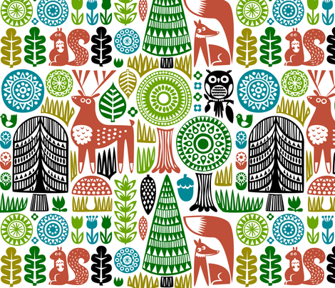 forestspoonflower-01 fabric by dennisthebadger on Spoonflower - custom fabric