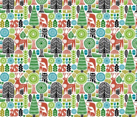 forestspoonflower-01 fabric by dennisthebadger on Spoonflower - custom fabric